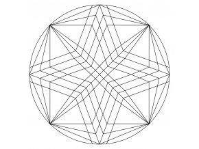 Šablona Mandala 0515