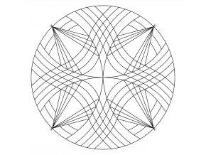 Šablona Mandala 0517