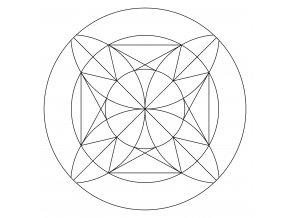 Šablona Mandala 0520