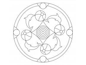 Šablona Mandala 0526