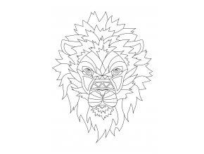 Šablona Lev