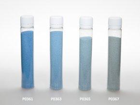Barevný písek - blankytně modrá barva