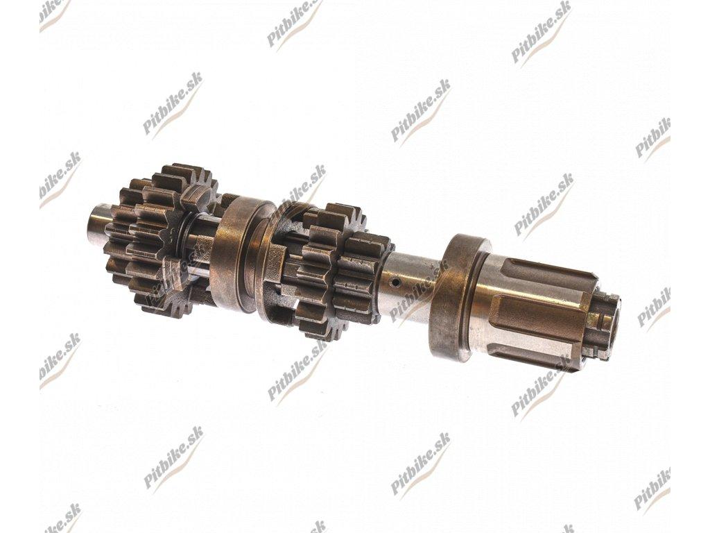 PIT02326 Prevodovka sekundárny hriadeľ Shineray YX250cc ST 4B 1