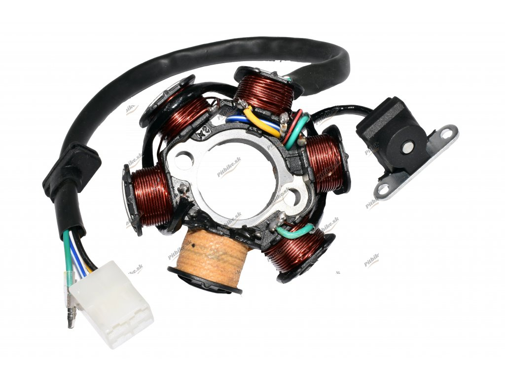 Zapaľovanie stator 6 cievkové ATV 4+1pinsamec 7723100556194 (2)