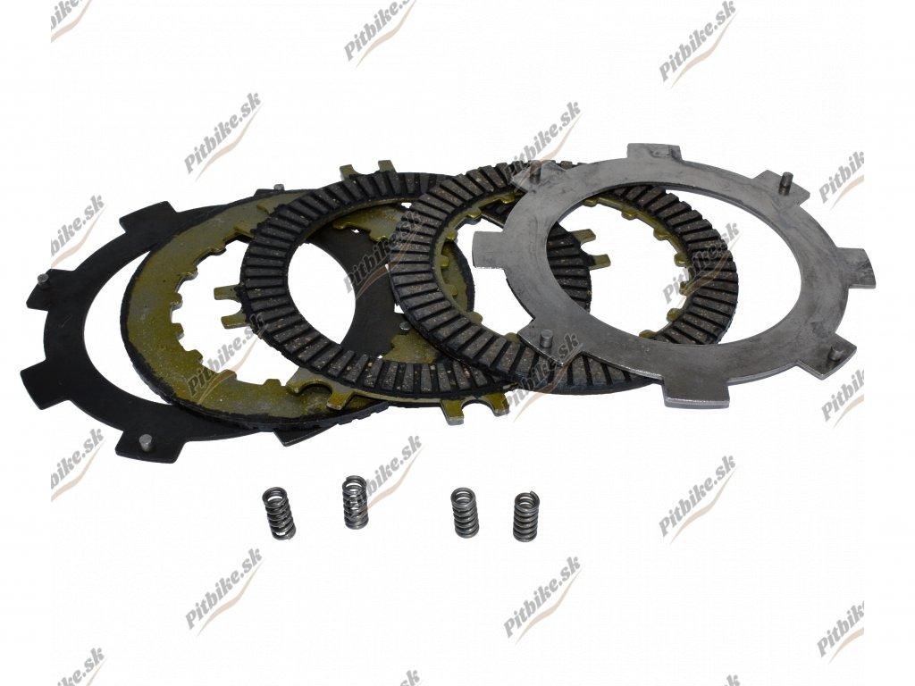 Sada lamiel + plechy ATV 110 125cc + malé pružiny 7723100550550 (2)
