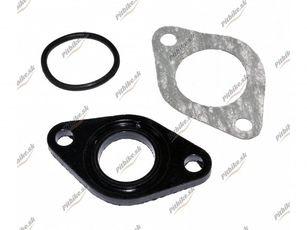 Plastová ( ebonitová ) podložka pod karburátor PZ19 komplet 7723100553223 (2)