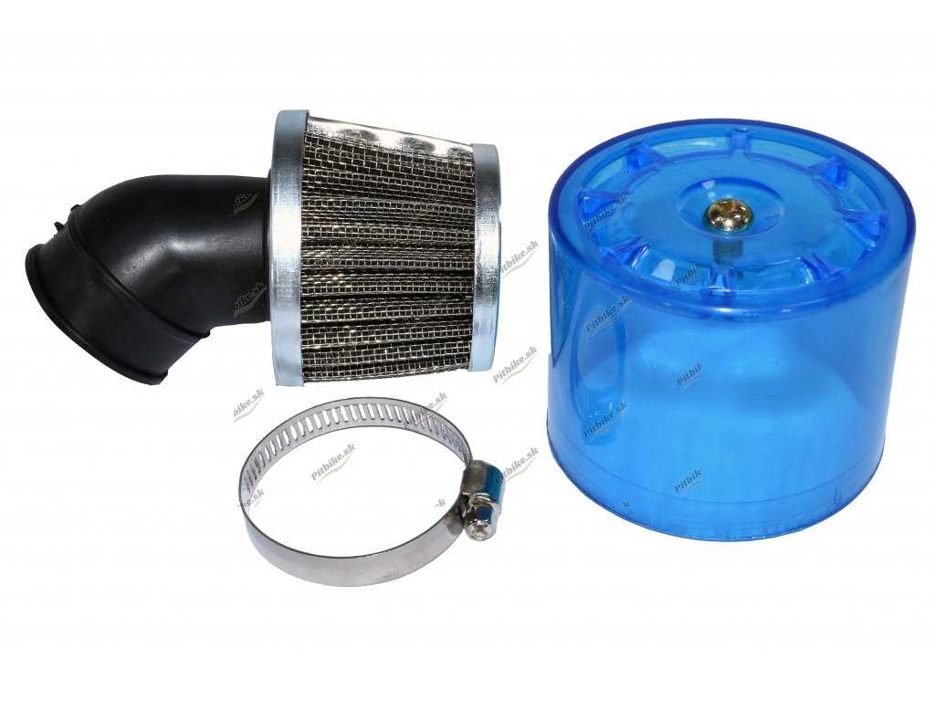 Vzduchový filter 35mm modrý 45° s krytkou 7723100554510 (1)