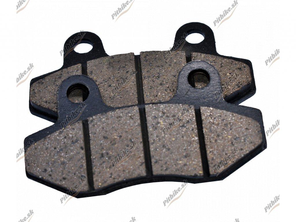 Brzdové obloženie 76×42 zadné Pitbike XB 33 7723100544016 (2)