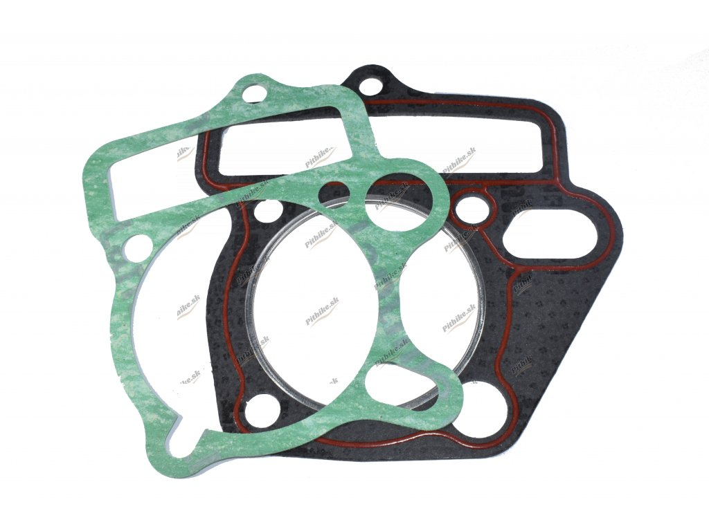 Tesnenie pod hlavu motora a valec 125cc 54,00mm oval 7723100553827 (3)