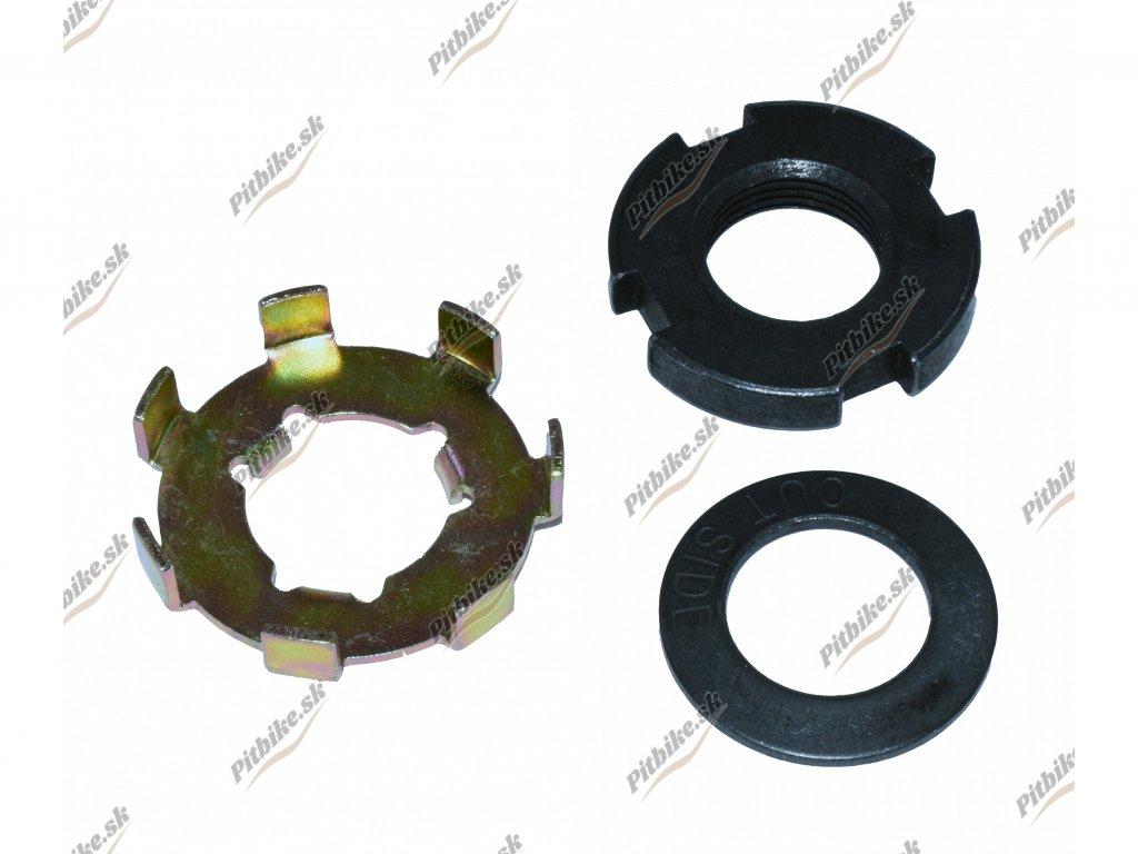 Matica spojky M14 + zaisťovacia podložka ATVPitbike 110 125cc 7723100561143 (2)