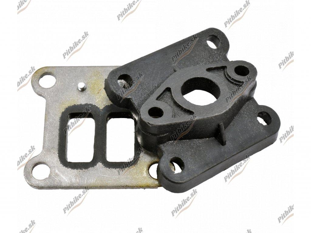 Dvojazyčková klapka minibike 2T s redukciou na karburátor 7723100509961 (5)