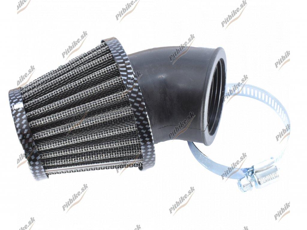 Vzduchový filter 42mm 45° karbón 7723100540742 (2)