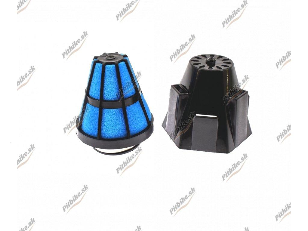 PIT00643 Vzduchový filter 35mm čierný plastový (1)