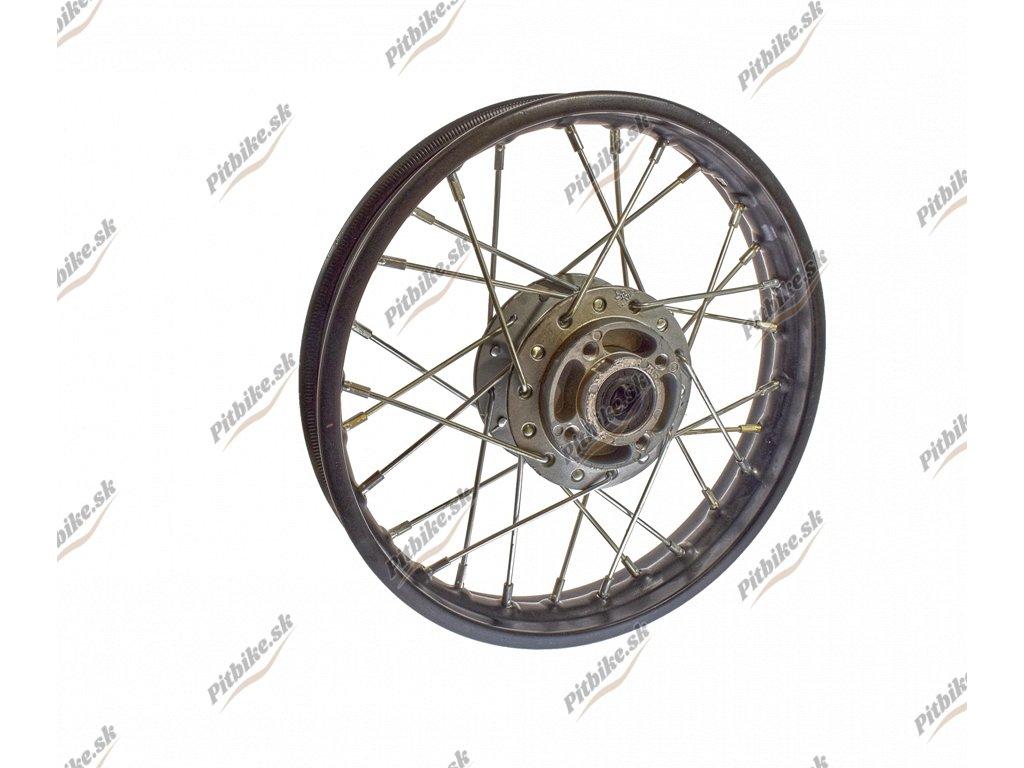 PIT00698 Rafík predného kolesa 12 čierny komplet 1