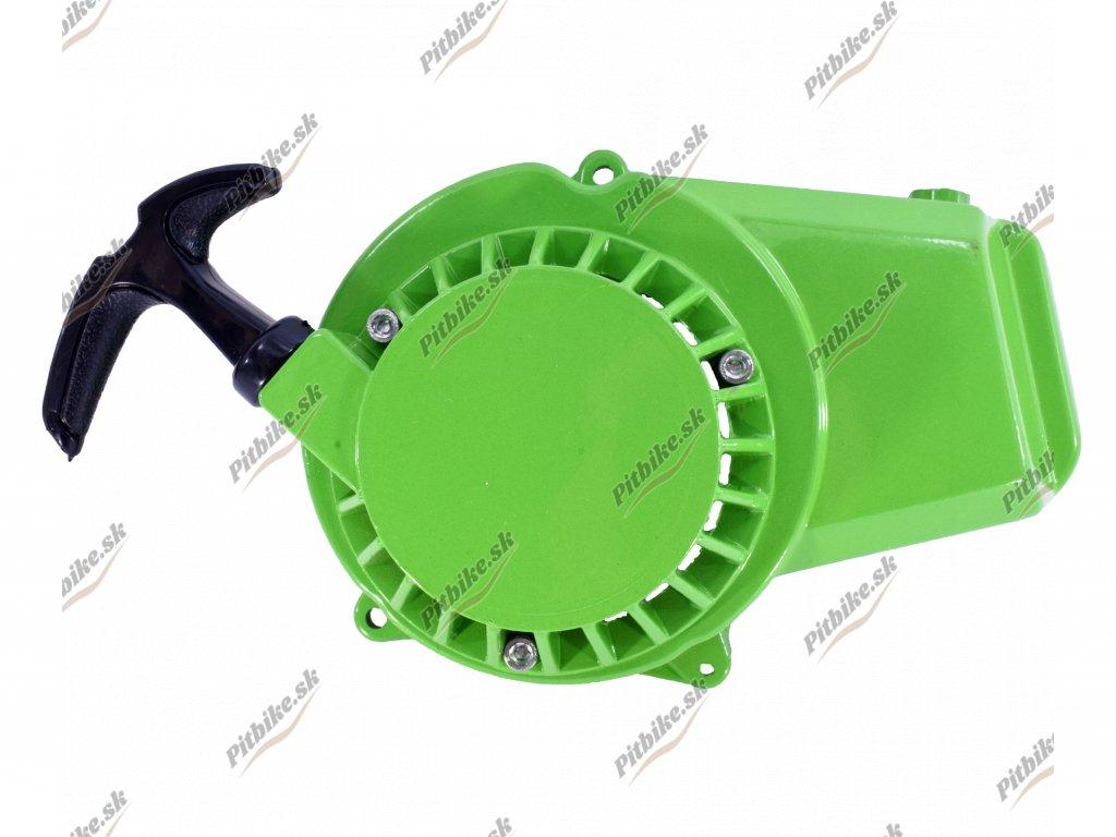 Štartér hliníkový Minibike zelený 7723100588676 (6)
