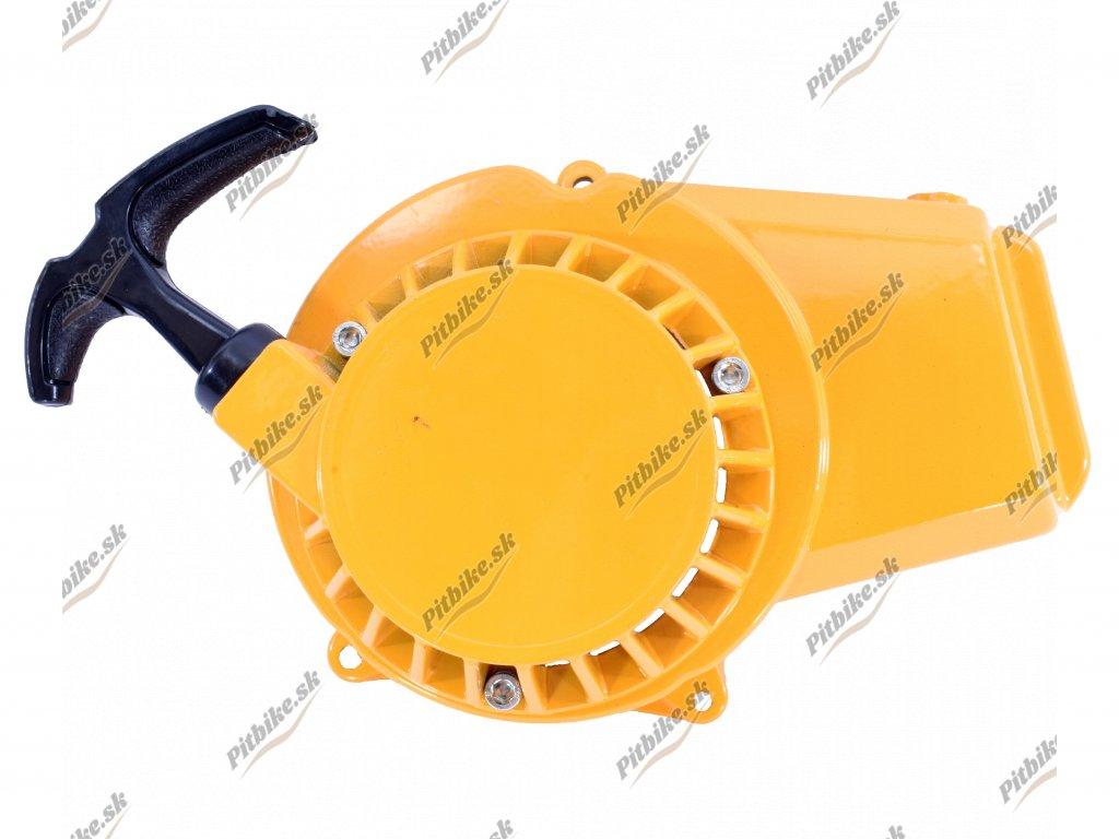 Štartér hliníkový Minibike žltý 7723100588973 (6)