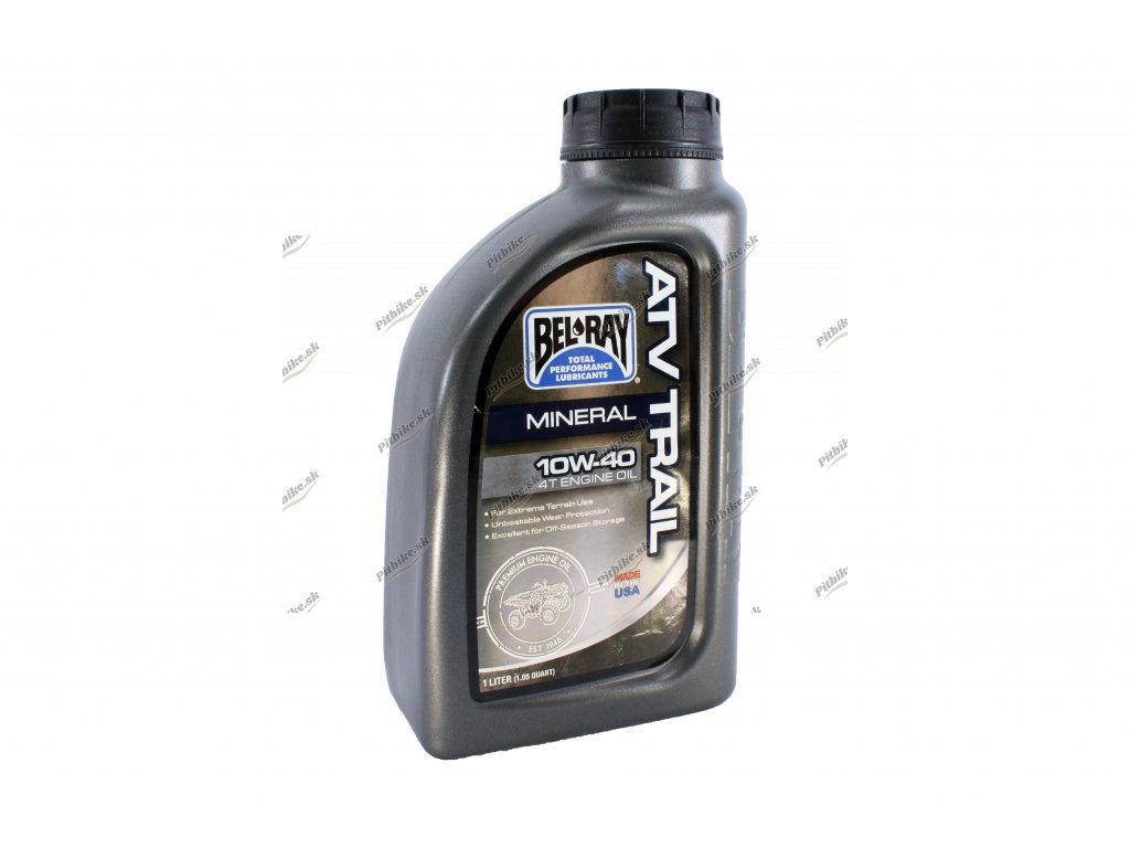 Motorový olej 10W 40 mineralný 4T ATV 1L 7723100592536 (2)
