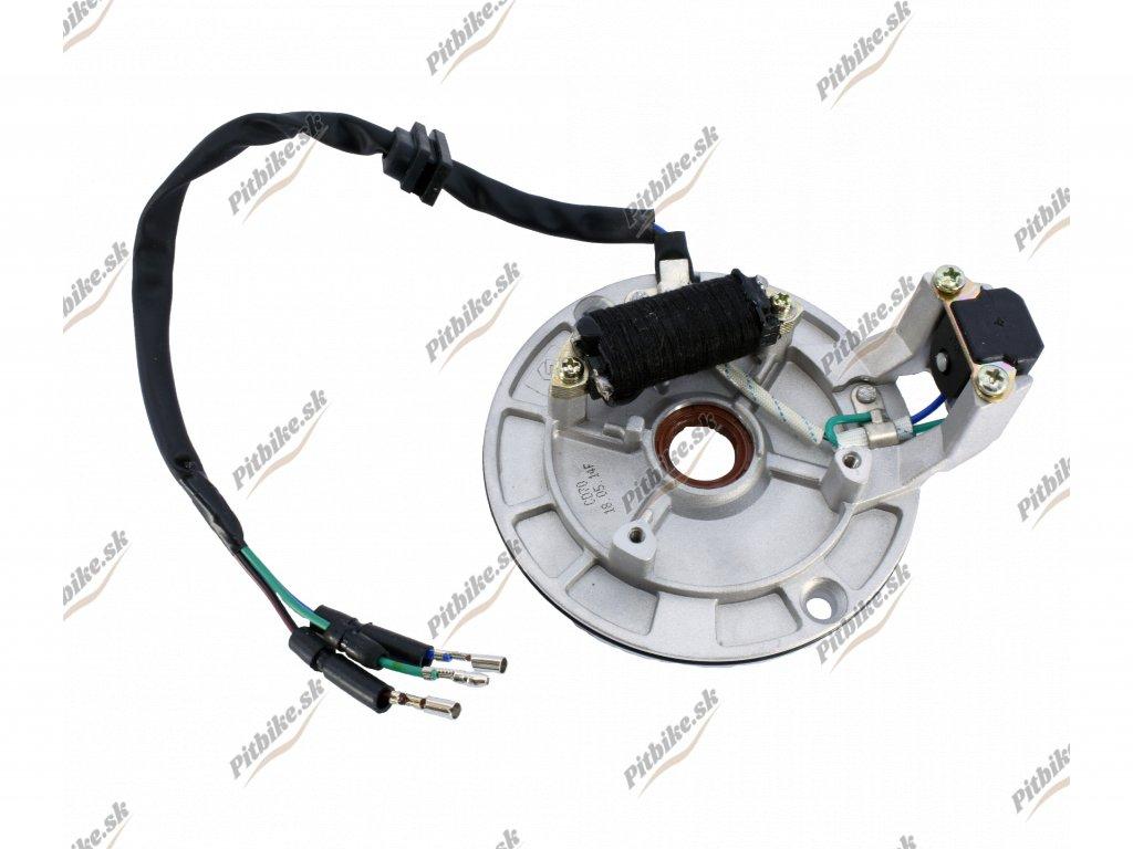 Zapaľovanie stator 1 cievkové Pitbike YX140 7723100594110 (3)