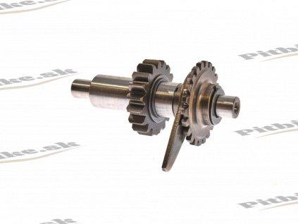 PIT02323 Prevodovka pomocný hriadeľ spiatočky Shineray YX250cc 1