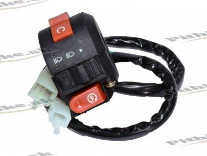 Prepínač svetiel 2 kon(6+2pin) ATV 110 125cc 7723100551649 (2)
