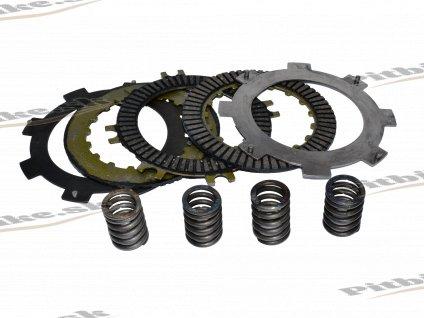 Sada lamiel + plechy ATV 110 125cc + veľké pružiny 7723100528375 (2)