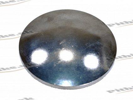 Kryt rozvodového koliečka okrúhly hladký 72mm sivý 7723100554114 (2)