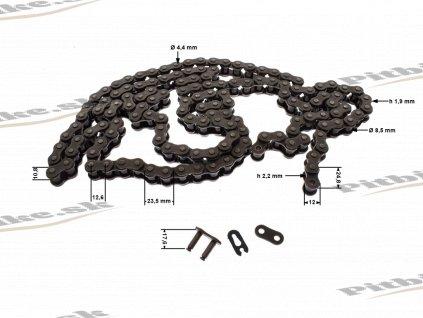 Reťaz 428H 140 ková YBN 7723100525503 (1)