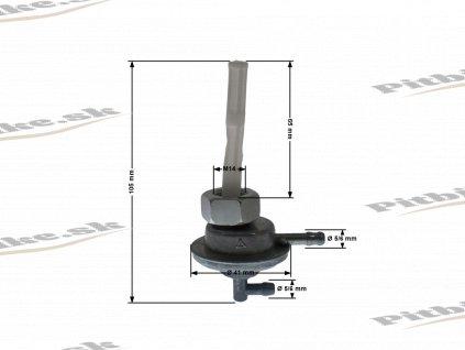 Podtlakový ventil M14