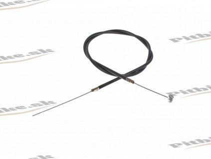 PIT00597 Brzdové lanko minibike zadné čierné