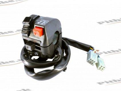 Prepínač svetiel ľavý 200 250cc 2k(6+4) 7723100596596 (3)