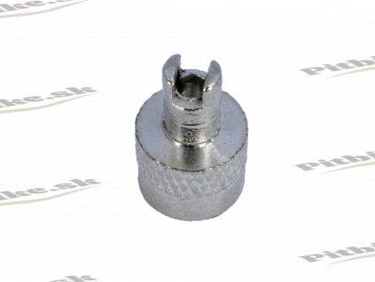 Čiapočka autoventilu kov strieborná 7723100623414 (1)