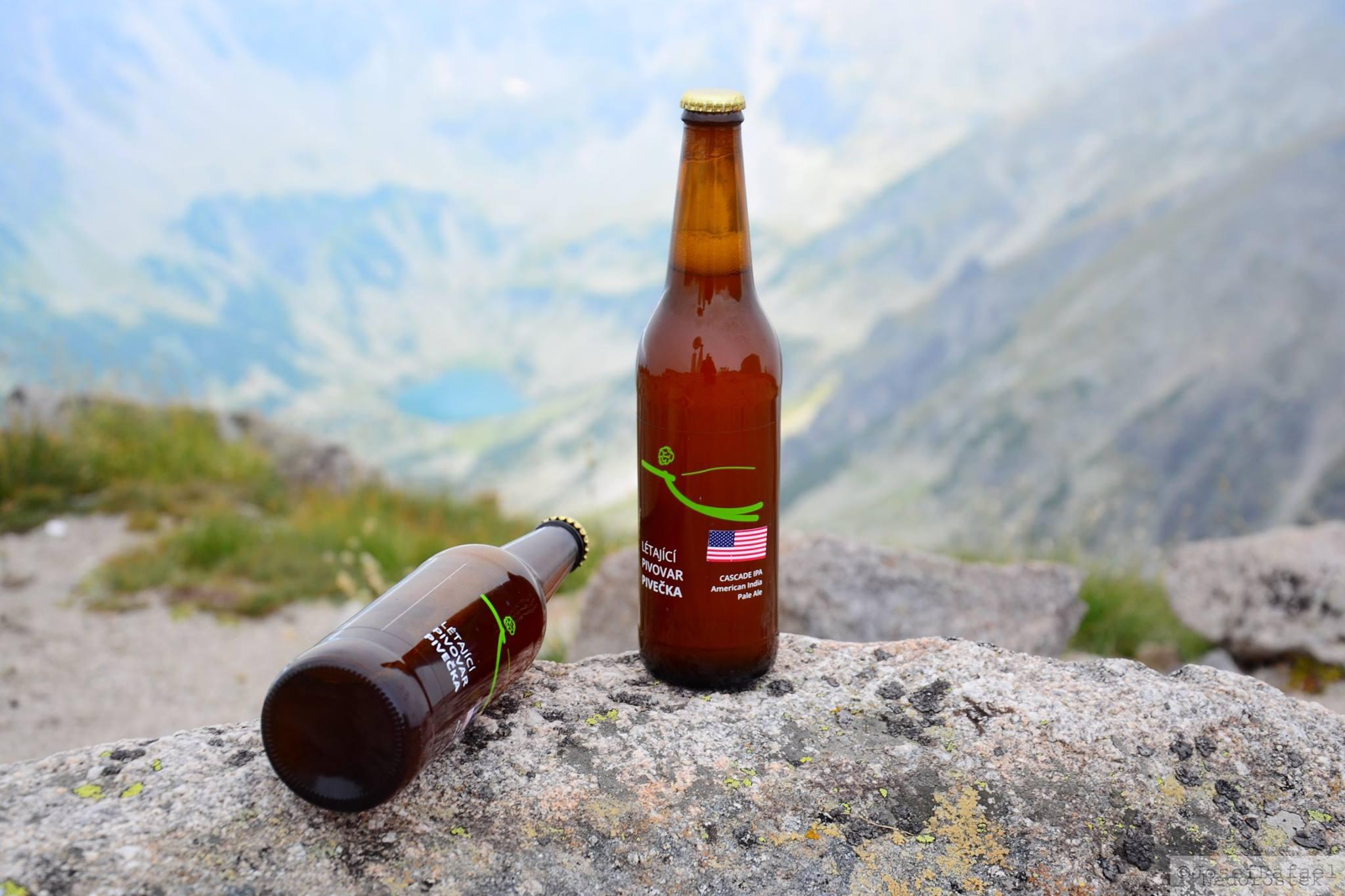 pivo pivecka průhledné etikety