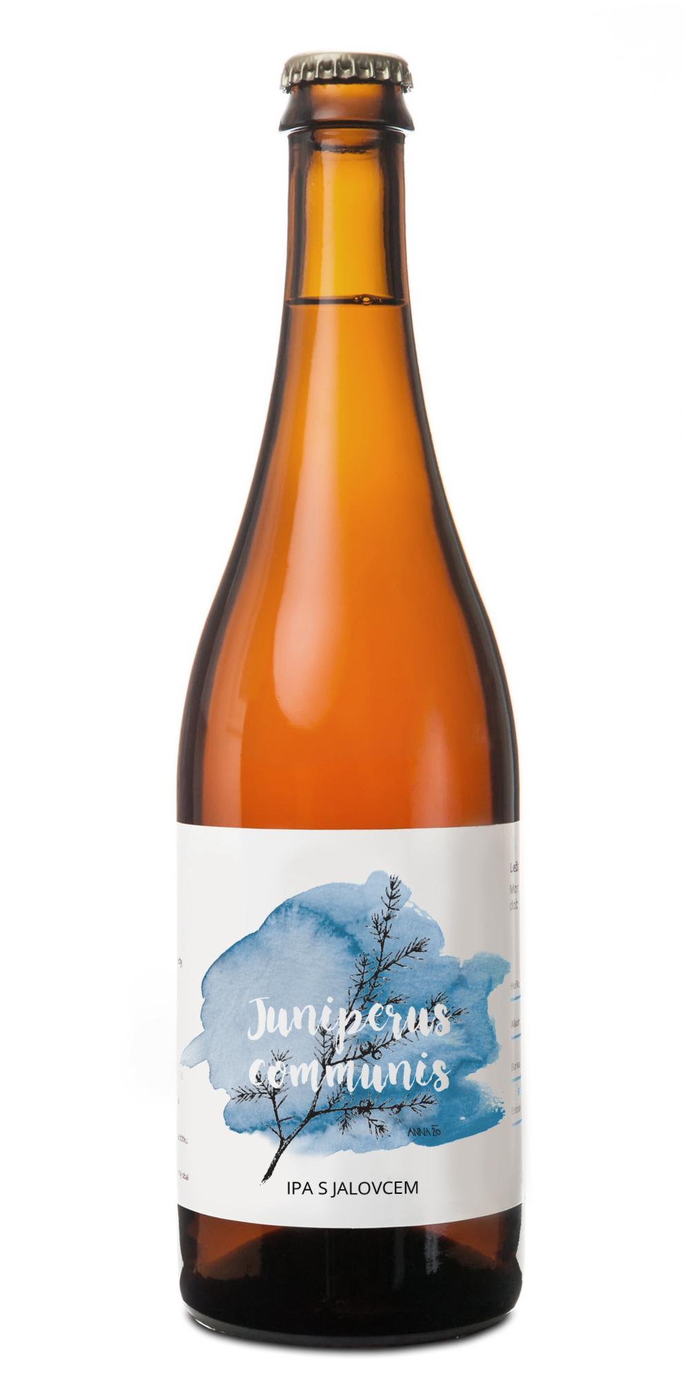 pivovar pivečka lahev Juniperus communis