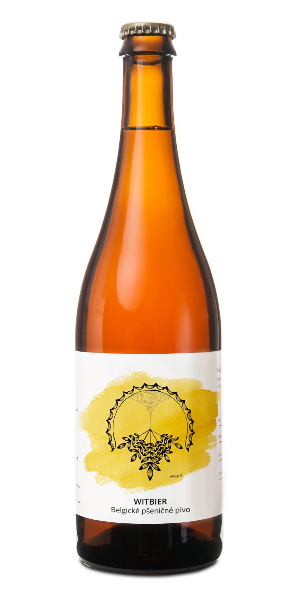 Witbier pivovar pivečka lahev