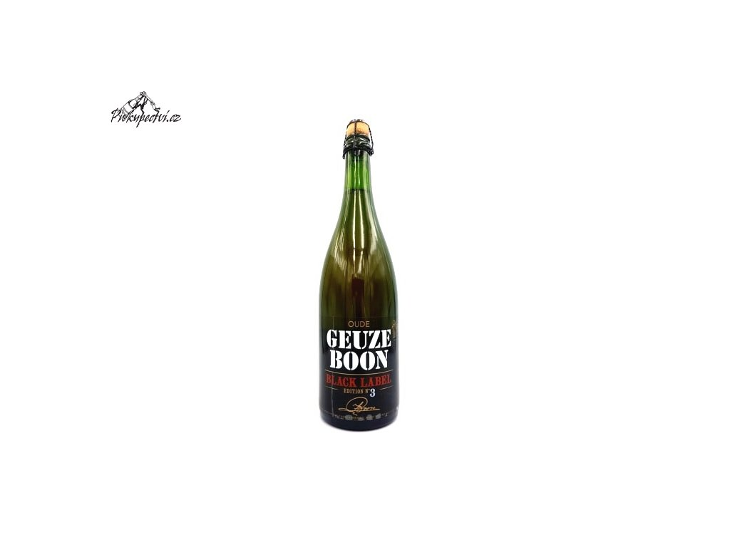 boon oude geuze black label edition 3 750
