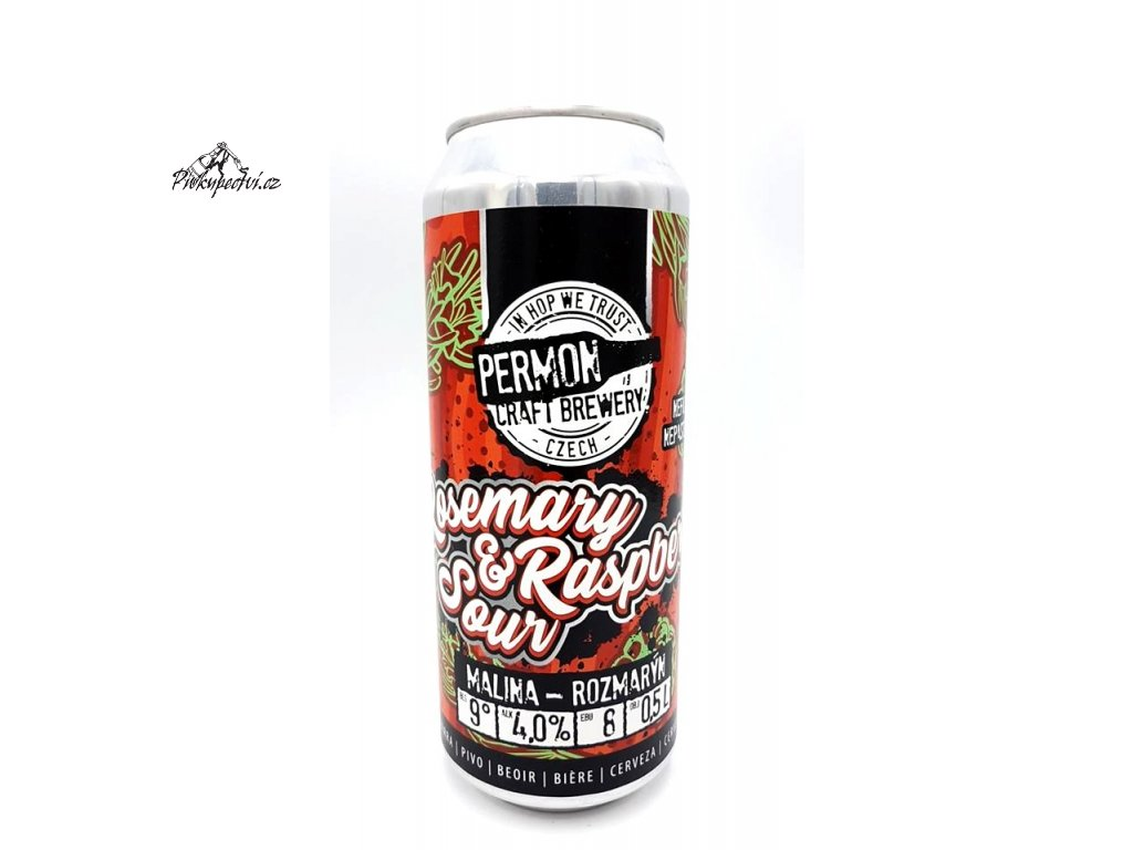 permon rosemary raspberry sour 500