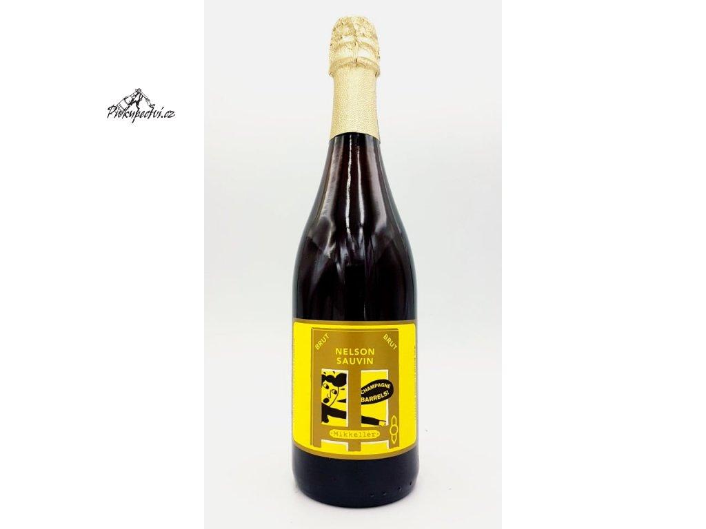 mikkeller brut nelson sauvin champage barrels 750
