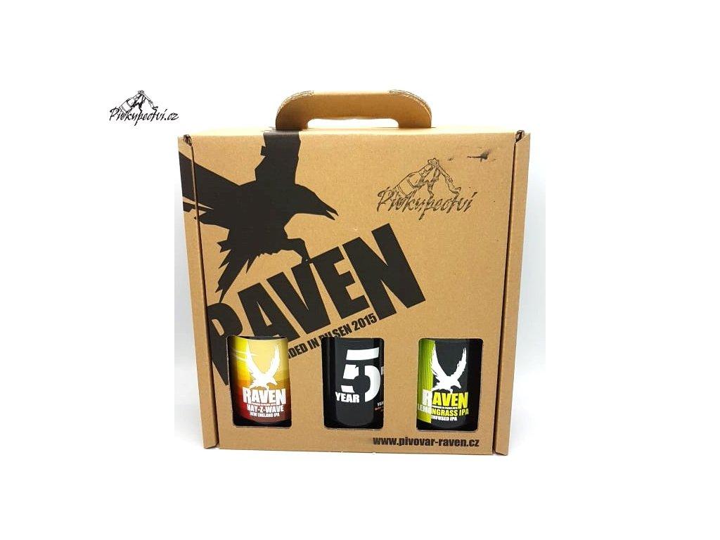 raven darkovy set 5 slozeny