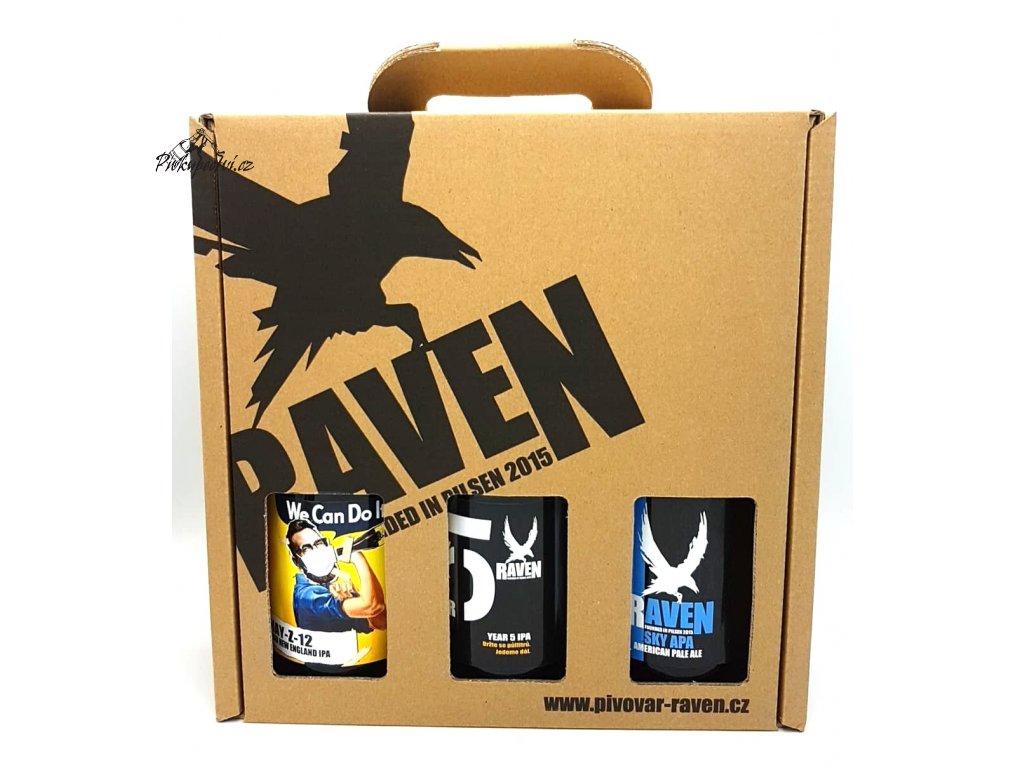 raven darkovy set 5,1 slozeny