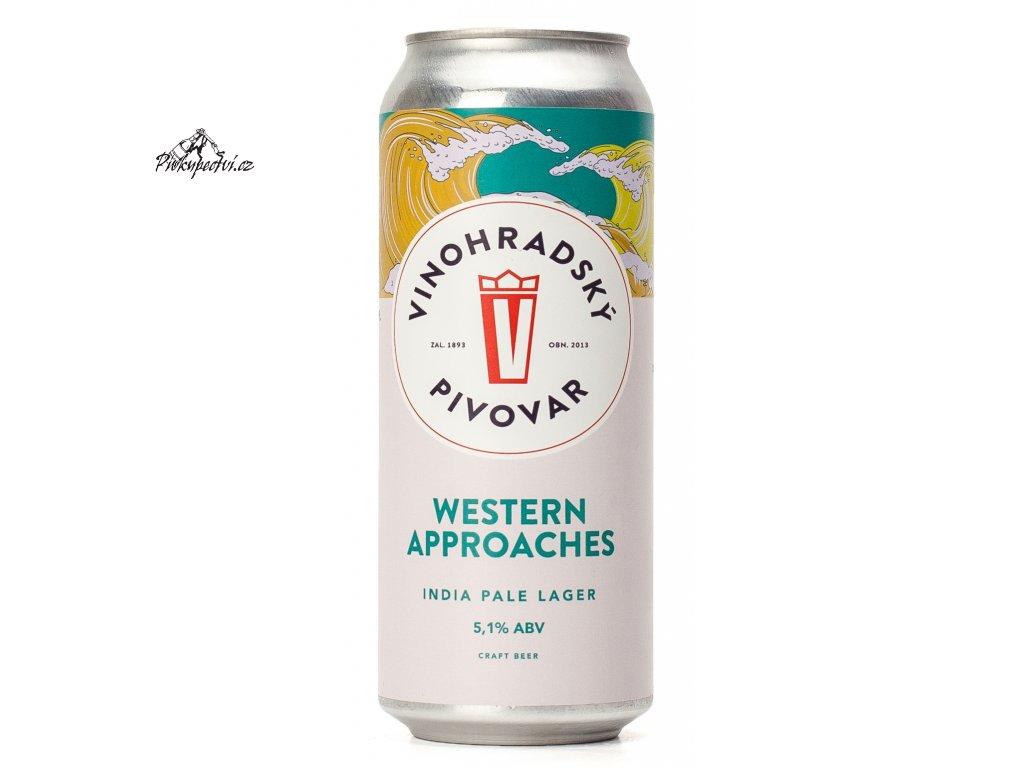 Vinohradský pivovar Western Approaches IPL 0.5 l plech