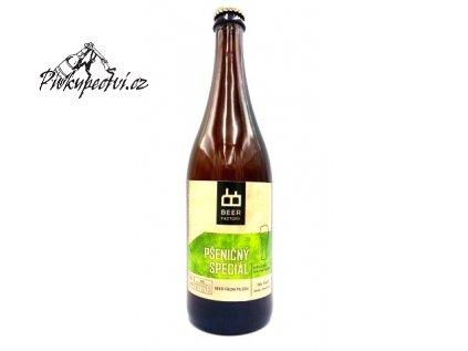 beer factory psenicný speciál 750