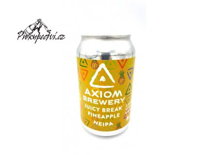 axiom juicy break pineapple neipa 330