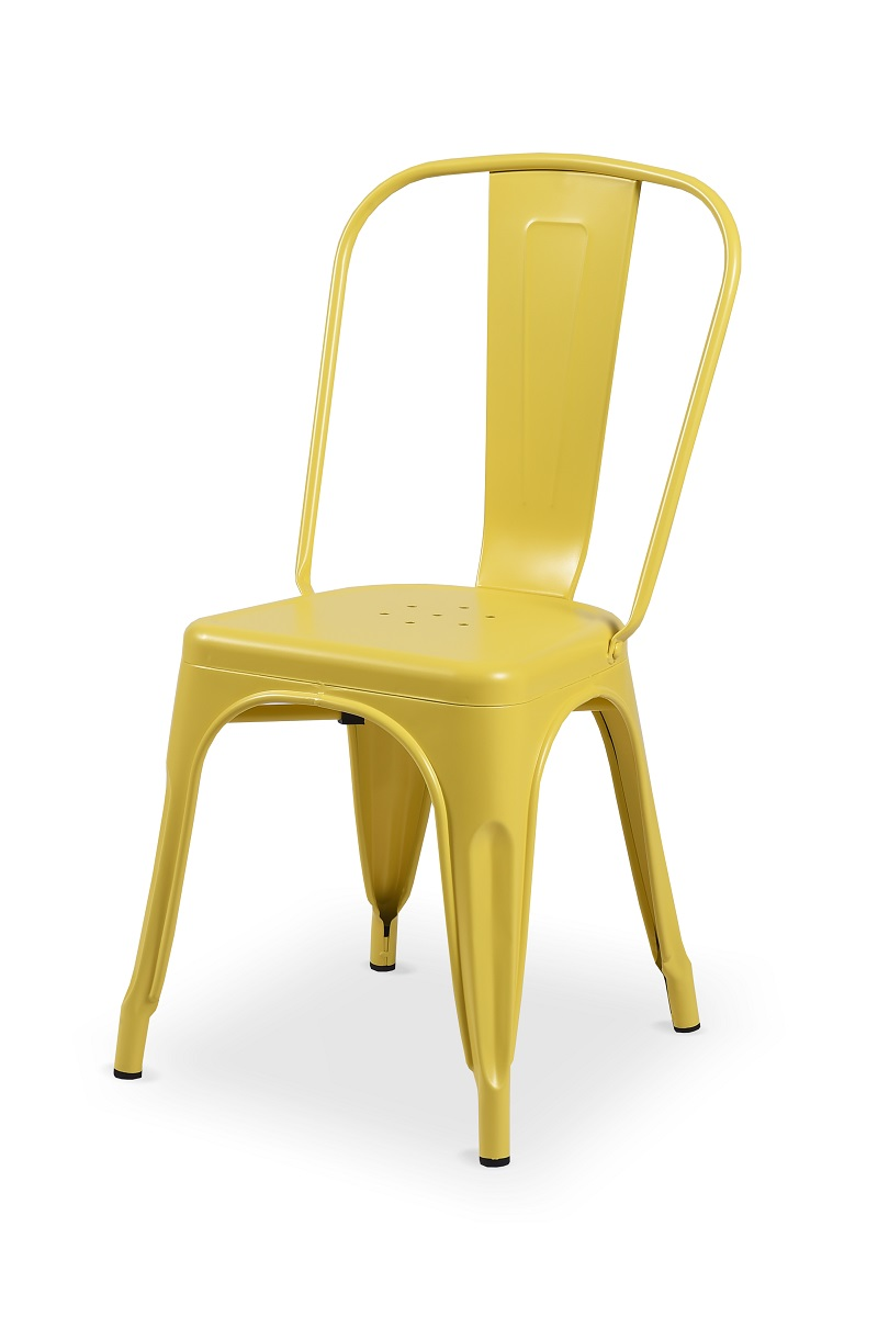 TOLIX chair yellow