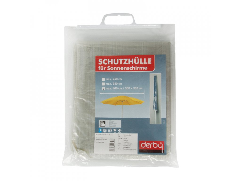 Ochranný obal pre stredové slnečníky Basic až do 400 cm