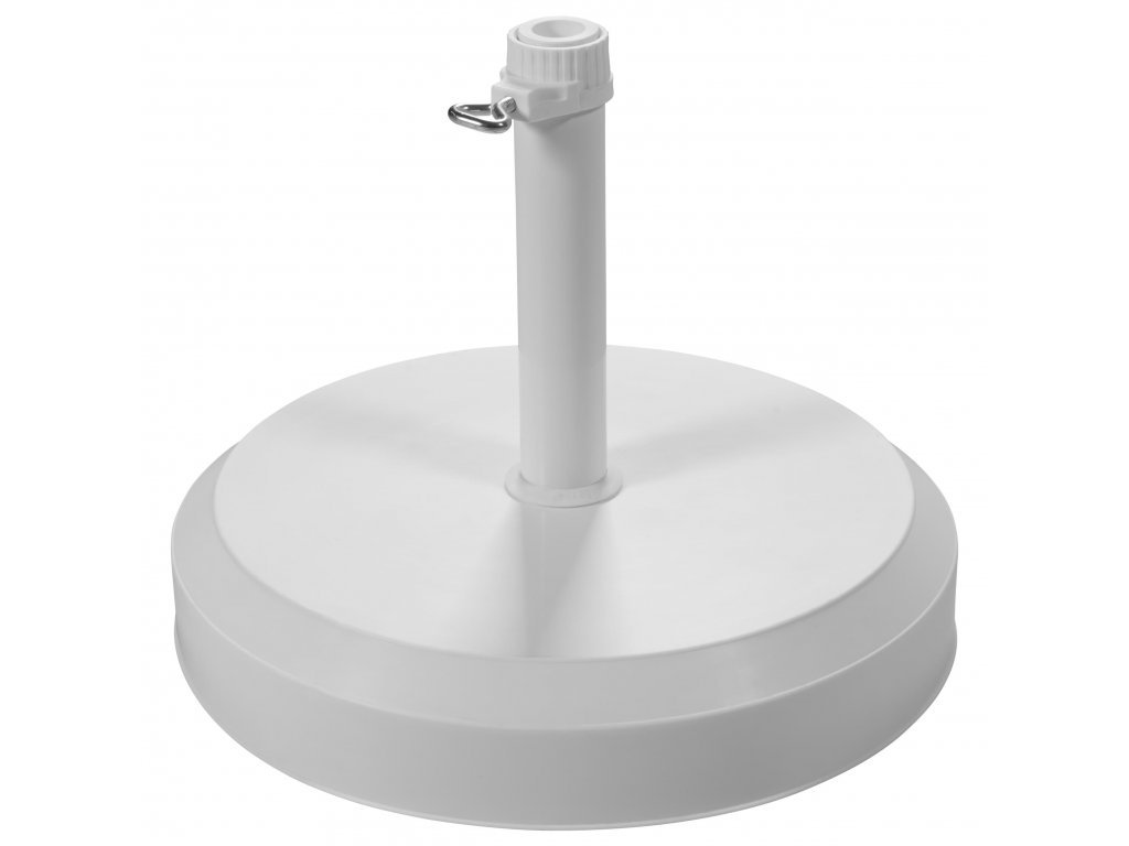 Betónový stojan 25 kg biely