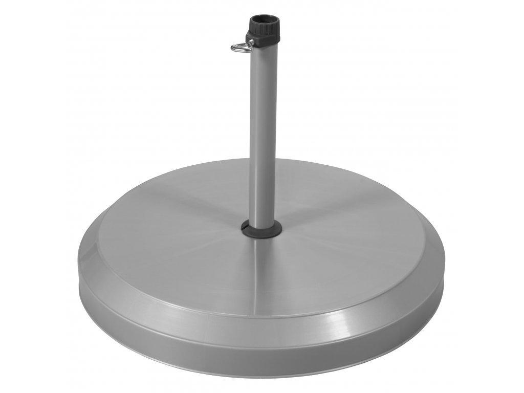 Sokel betónový 20 kg strieborný