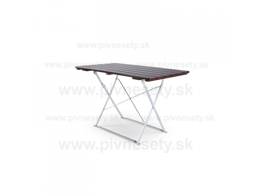 Skladací stôl 120 x 70 cm