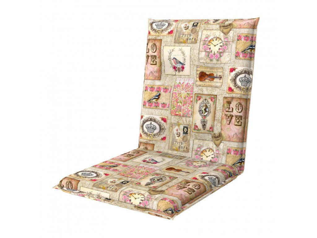 LIVING DE LUXE 5037 - poduška na stoličku a kreslo