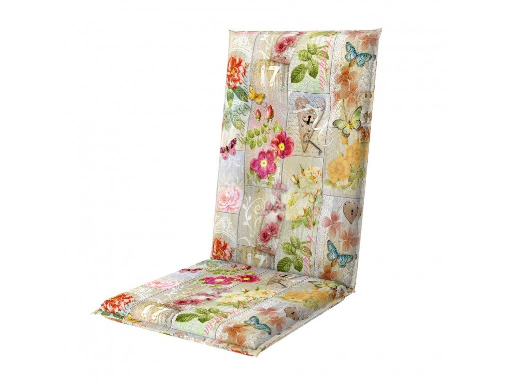 LIVING DE LUXE 7010 - poduška na stoličku a kreslo