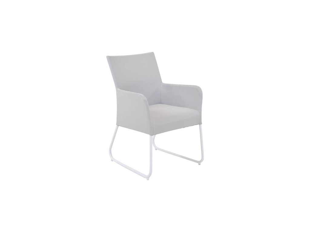 blixum dining chair white ivory soltex